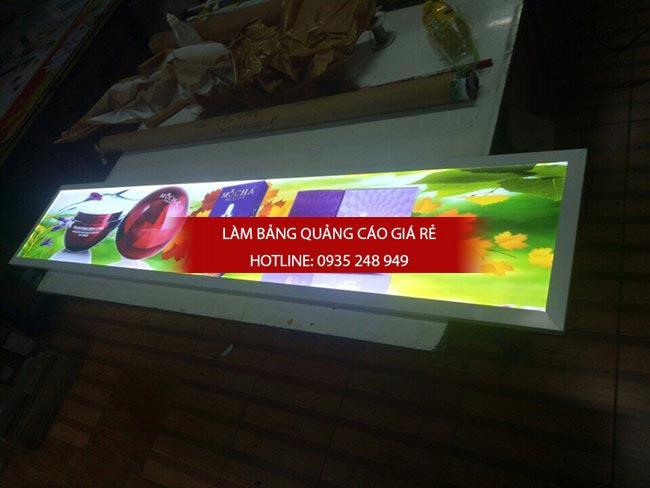 lam hop den sieu mong quan phu nhuan - Hộp đèn quảng cáo siêu mỏng giá rẻ