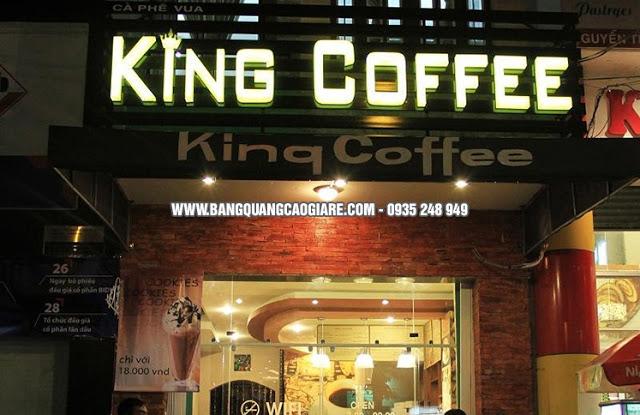 lam bien hieu cafe gia re tai hcm bien hieu cafe dep 3 Copy - Những mẫu bảng hiệu cafe đẹp