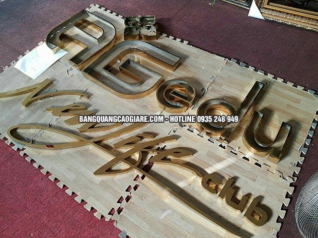 lam chu noi inox vang 304 2 - Làm chữ nổi inox vàng