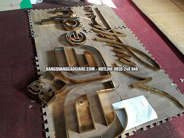 lam chu noi inox vang 304 3 - Làm chữ nổi inox vàng