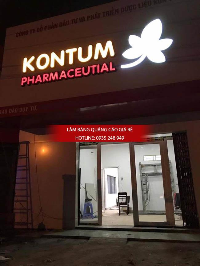bang hieu alu nha thuoc tay 4 - Làm bảng hiệu nhà thuốc tại Tp HCM