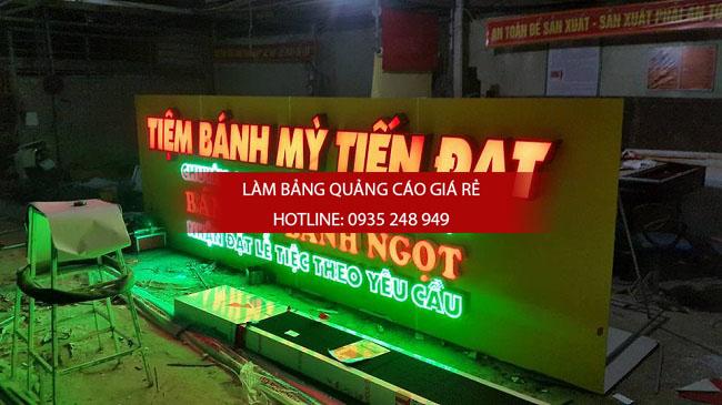 bang hieu chu noi mica tiem banh my 2 - Bảng hiệu alu gắn chữ nổi mica tiệm bánh mỳ