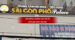 lam bang hieu chu noi mica 1 310x165 - Thi công bảng hiệu chữ nổi mica trung tâm tiệc cưới