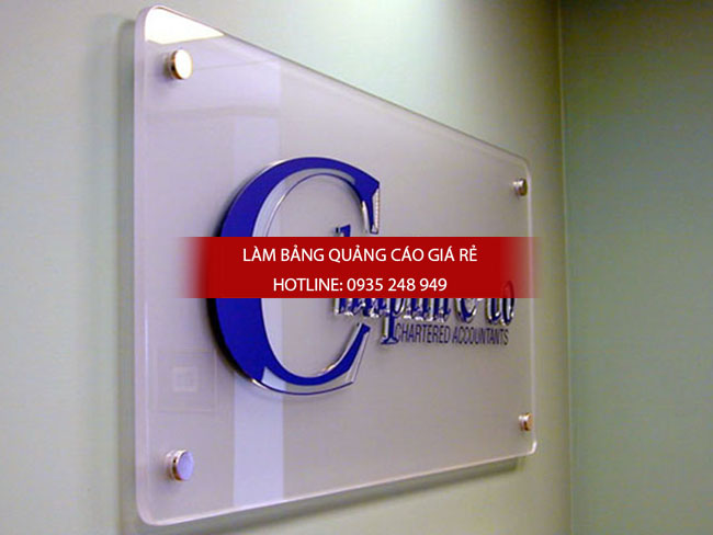 lam bang hieu mica q10 - Làm bảng hiệu mica tại quận 10