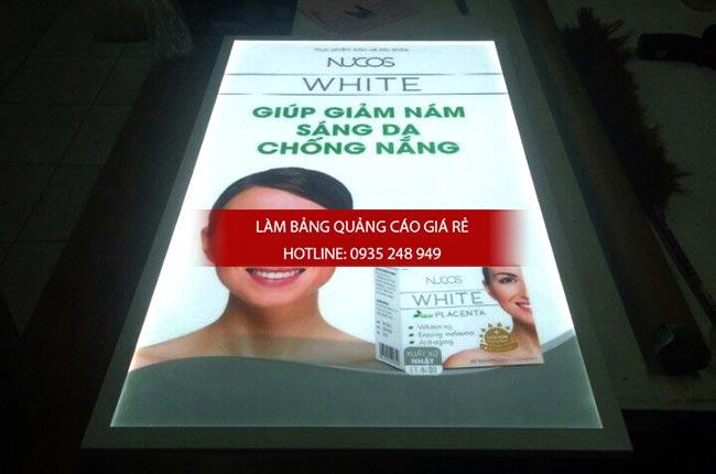 lam hop den sieu mong quan1 - Hộp đèn quảng cáo siêu mỏng giá rẻ