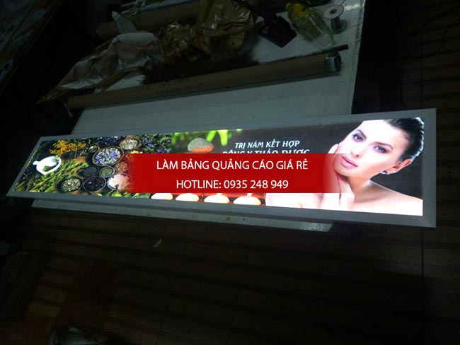 lam hop den sieu mong quan3 - Hộp đèn quảng cáo siêu mỏng giá rẻ