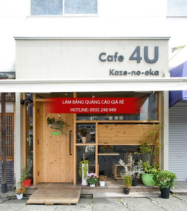 mau bang hieu cafe dep 12 - Một số mẫu bảng hiệu quán cafe đẹp
