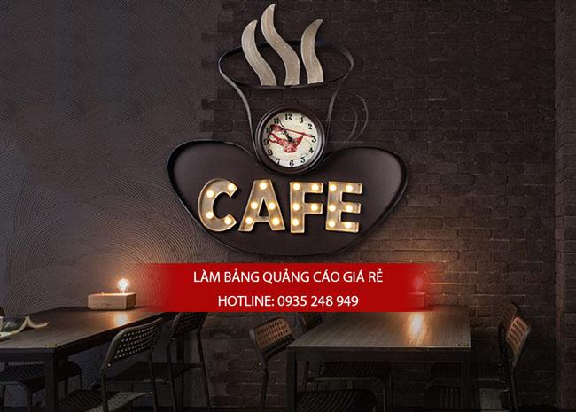 mau bang hieu cafe dep 16 - Một số mẫu bảng hiệu quán cafe đẹp