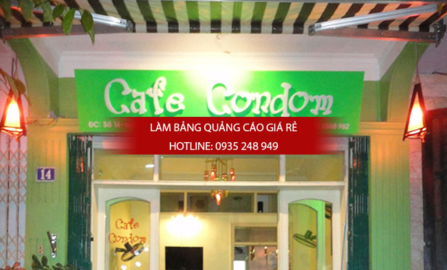 mau bang hieu cafe dep 4 - Một số mẫu bảng hiệu quán cafe đẹp