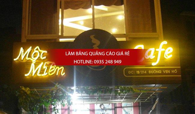 mau bang hieu cafe dep 6 - Một số mẫu bảng hiệu quán cafe đẹp