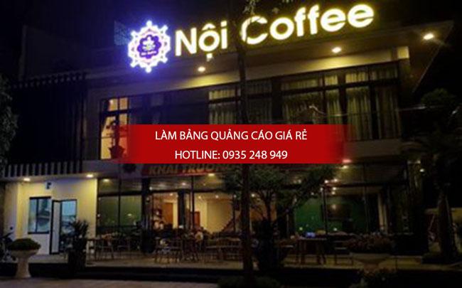 mau bang hieu cafe dep 9 - Một số mẫu bảng hiệu quán cafe đẹp