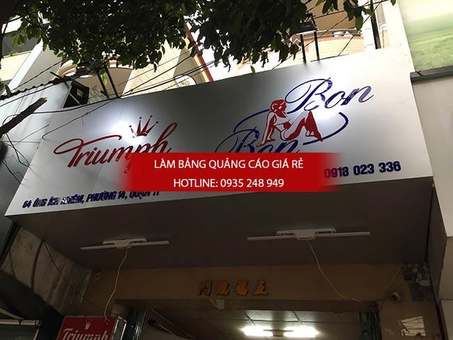 mau bang hieu shop spa dep 10 - Mẫu bảng hiệu shop thời trang đẹp