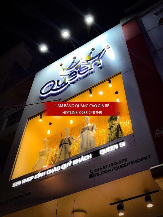 mau bang hieu shop spa dep 13 - Mẫu bảng hiệu shop thời trang đẹp