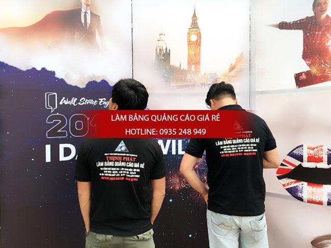 thi cong backdrop su kien 1 - Làm Bảng Hiệu Quảng cáo Tại Quận Tân Phú
