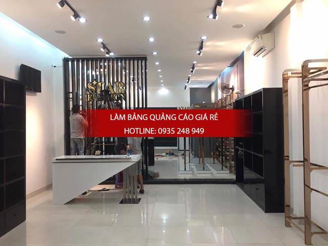 thi cong shop thoi trang 1 - Thi công bảng hiệu shop thời trang