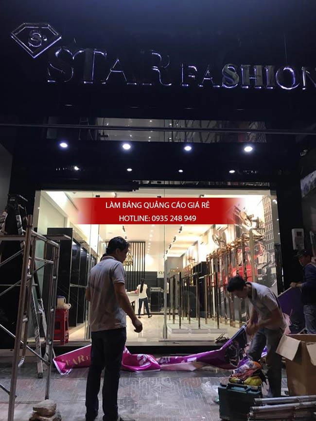thi cong shop thoi trang 2 - Thi công bảng hiệu shop thời trang