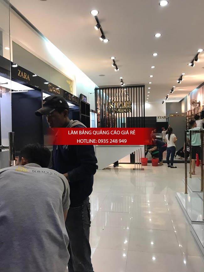 thi cong shop thoi trang 3 - Thi công bảng hiệu shop thời trang