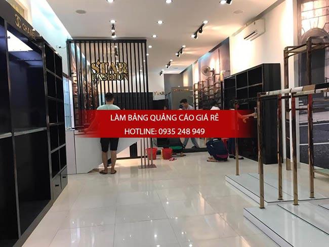 thi cong shop thoi trang 5 - Thi công bảng hiệu shop thời trang