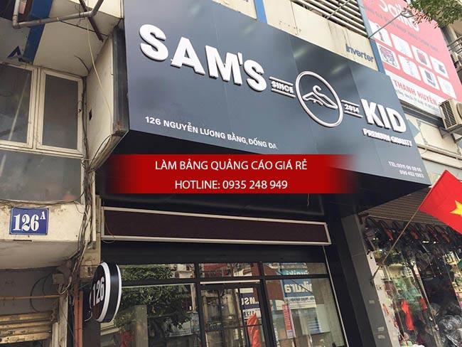 thiet ke thi cong bang hieu shop thoi trang 4 - Thiết kế thi công bảng hiệu shop thời trang