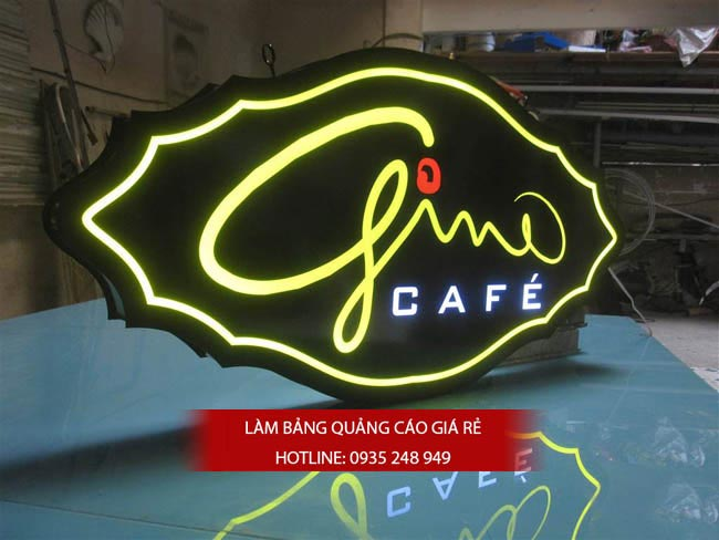 bang hieu quan cafe dep 1 1 - Những mẫu bảng hiệu trà sữa đẹp