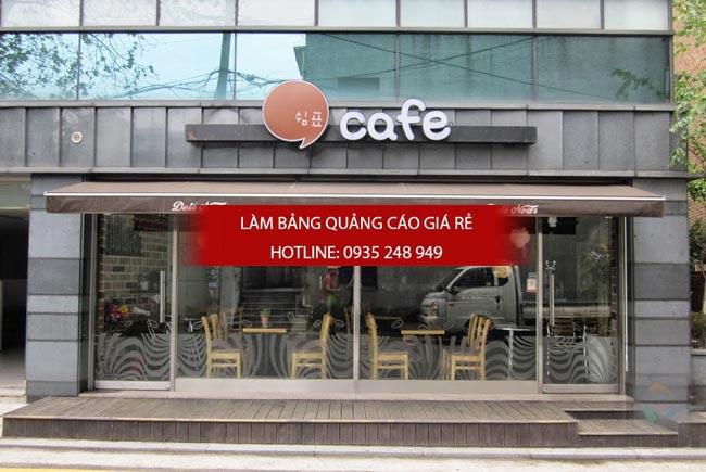 bang hieu quan cafe dep 10 - 13 mẫu bảng hiệu cafe đẹp tại tphcm