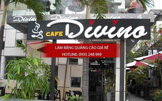 bang hieu quan cafe dep 2 1 - Những mẫu bảng hiệu trà sữa đẹp