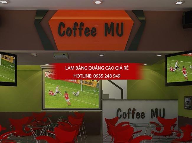 bang hieu quan cafe dep 4 1 - Những mẫu bảng hiệu trà sữa đẹp