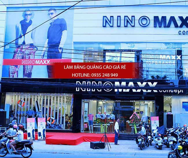 bang hieu thoi trang dep 5 - 15 mẫu bảng hiệu thời trang đẹp