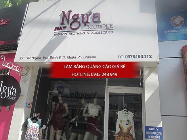 bang hieu thoi trang dep 7 - 15 mẫu bảng hiệu thời trang đẹp