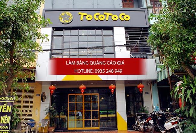 bang hieu tra sua dep 1 - Làm bảng hiệu trà sữa quận Bình Thạnh Tp HCM