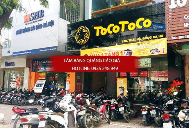 bang hieu tra sua dep 10 - Làm bảng hiệu trà sữa quận Bình Thạnh Tp HCM
