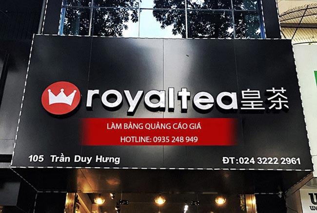 bang hieu tra sua dep 3 - Làm bảng hiệu trà sữa quận Bình Thạnh Tp HCM