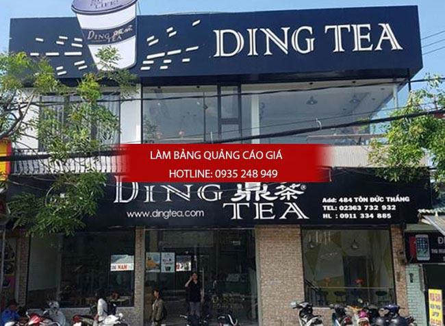 bang hieu tra sua dep 5 - Làm bảng hiệu trà sữa quận Bình Thạnh Tp HCM