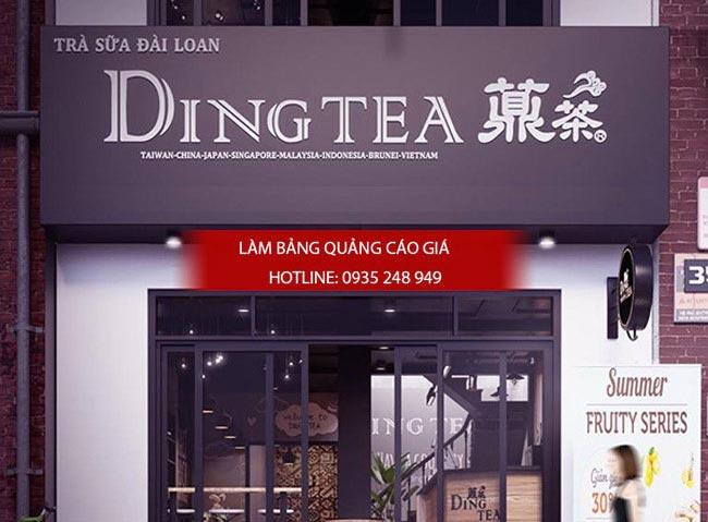 bang hieu tra sua dep 7 - Làm bảng hiệu trà sữa quận Bình Thạnh Tp HCM