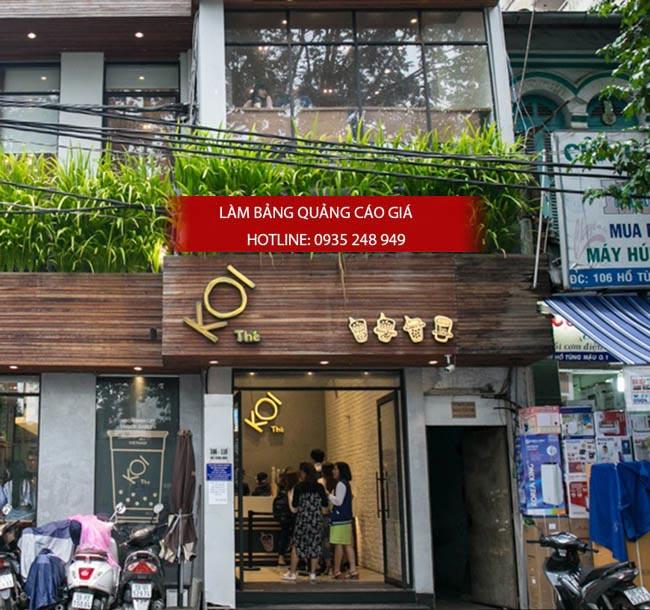 bang hieu tra sua dep 8 - Làm bảng hiệu trà sữa quận Bình Thạnh Tp HCM