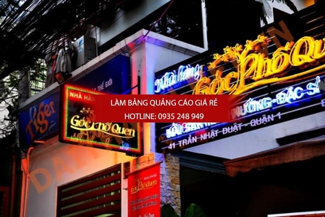 lam bang hieu quan an 1 - Làm bảng hiệu quán ăn đẹp tphcm