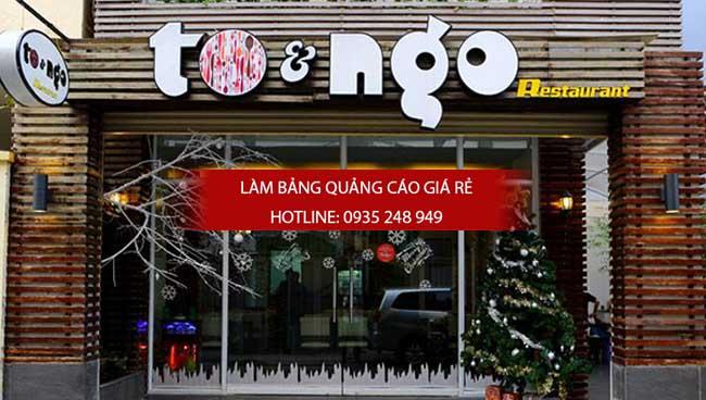 lam bang hieu quan an 10 - [ Làm ] mẫu bảng hiệu quán ăn đẹp
