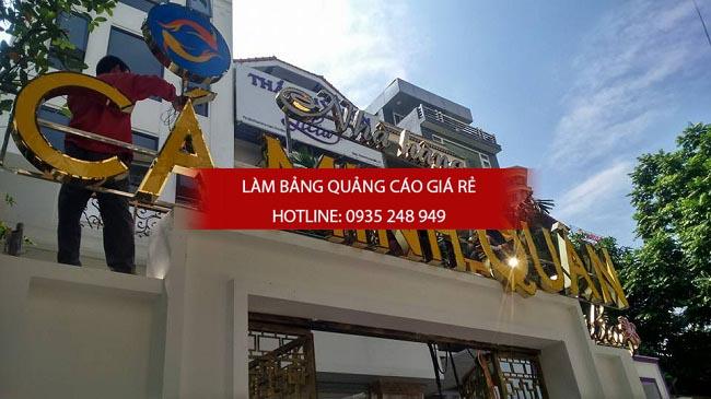 lam bang hieu quan an 15 - [ Làm ] mẫu bảng hiệu quán ăn đẹp