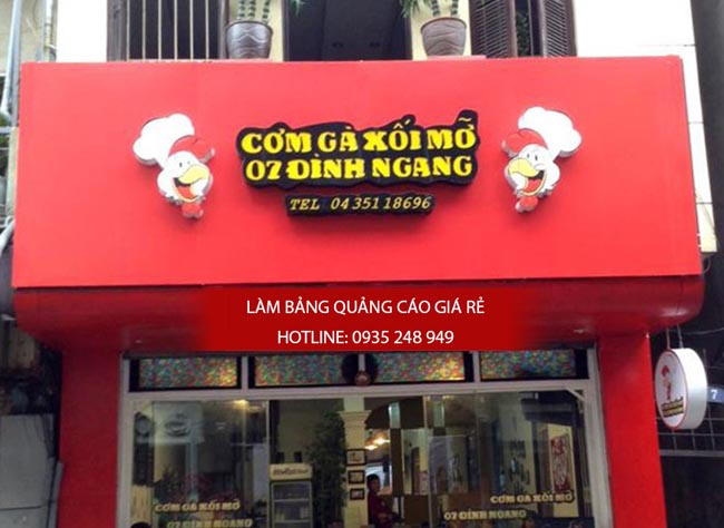 lam bang hieu quan an 20 - [ Làm ] mẫu bảng hiệu quán ăn đẹp
