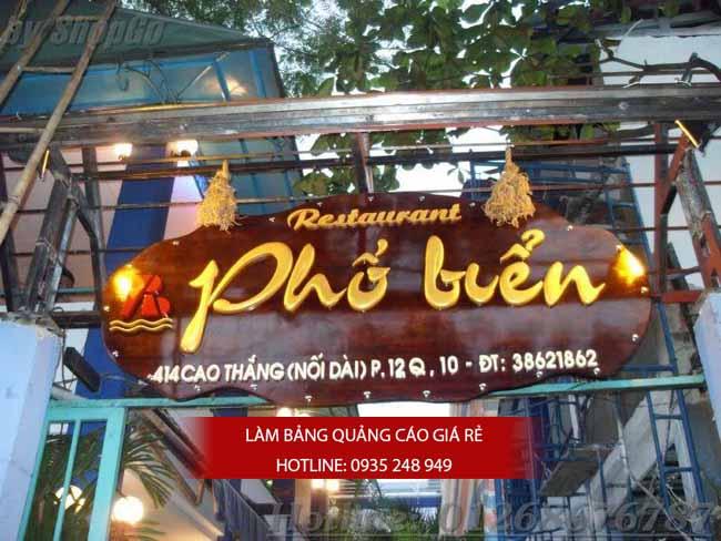 lam bang hieu quan an 25 - [ Làm ] mẫu bảng hiệu quán ăn đẹp