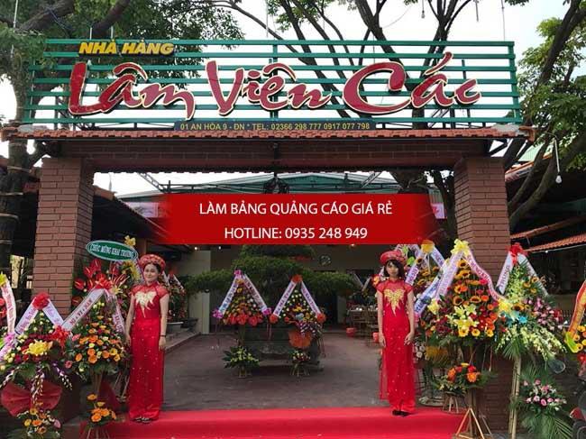 lam bang hieu quan an 28 - [ Làm ] mẫu bảng hiệu quán ăn đẹp