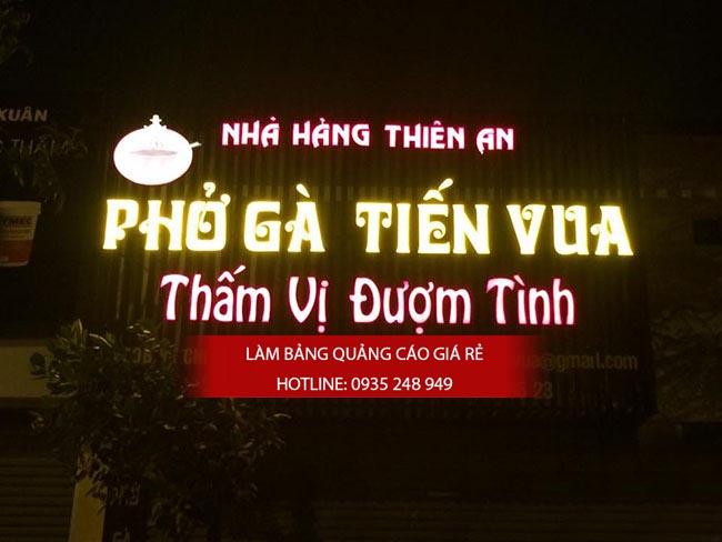 lam bang hieu quan an 30 - [ Làm ] mẫu bảng hiệu quán ăn đẹp