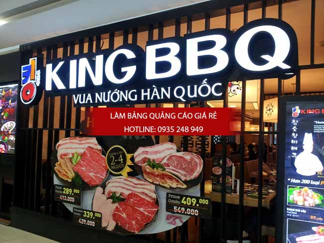 lam bang hieu quan an 4 - Làm bảng hiệu quán ăn đẹp tphcm