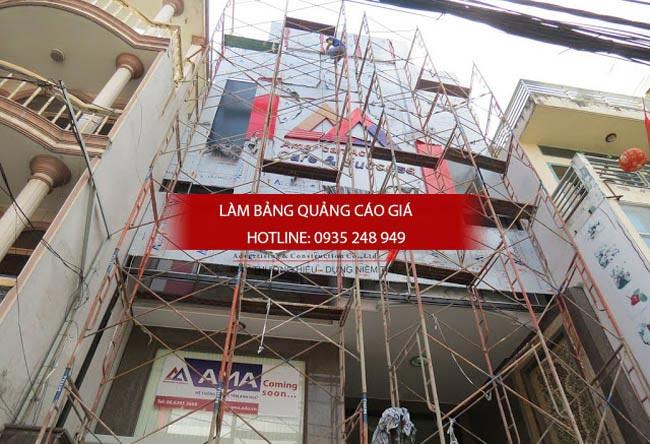 lam bang hieu truong hoc 10 - Làm bảng hiệu quận 11