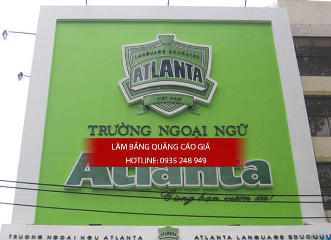 lam bang hieu truong hoc 12 - Làm bảng hiệu trung tâm anh ngữ quận Tân Phú