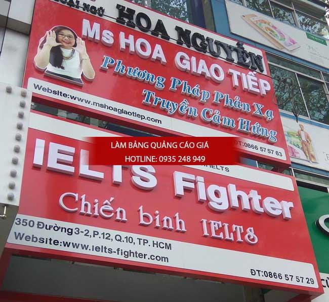 lam bang hieu truong hoc 17 - Làm bảng hiệu trung tâm anh ngữ quận Tân Phú