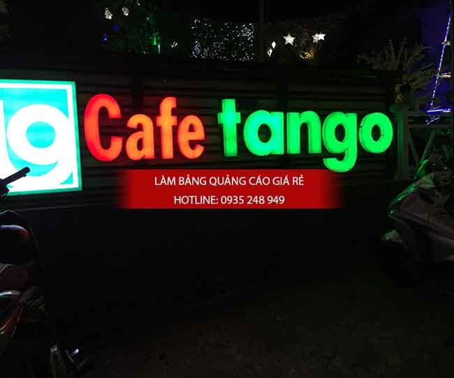lam chu noi mica 6 - Làm chữ nổi mica gắn đèn Led quán cafe tại quận 5