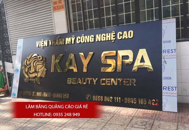 mau bang hieu spa dep 13 - Làm Bảng Hiệu Quảng cáo Tại Quận Tân Phú