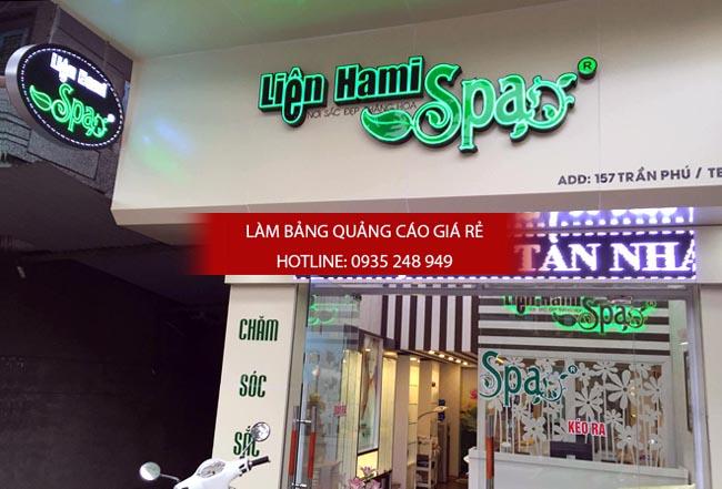mau bang hieu spa dep 5 - # Mẫu bảng hiệu spa, thẩm mỹ viện đẹp tại tphcm