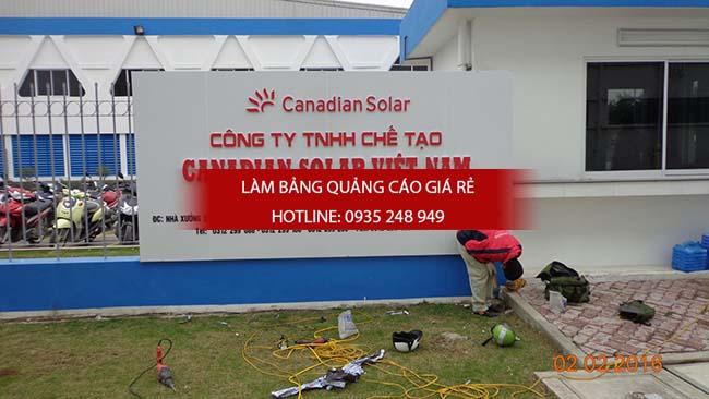 bang hieu cong ty - Làm bảng hiệu quảng cáo giá rẻ tại TP HCM